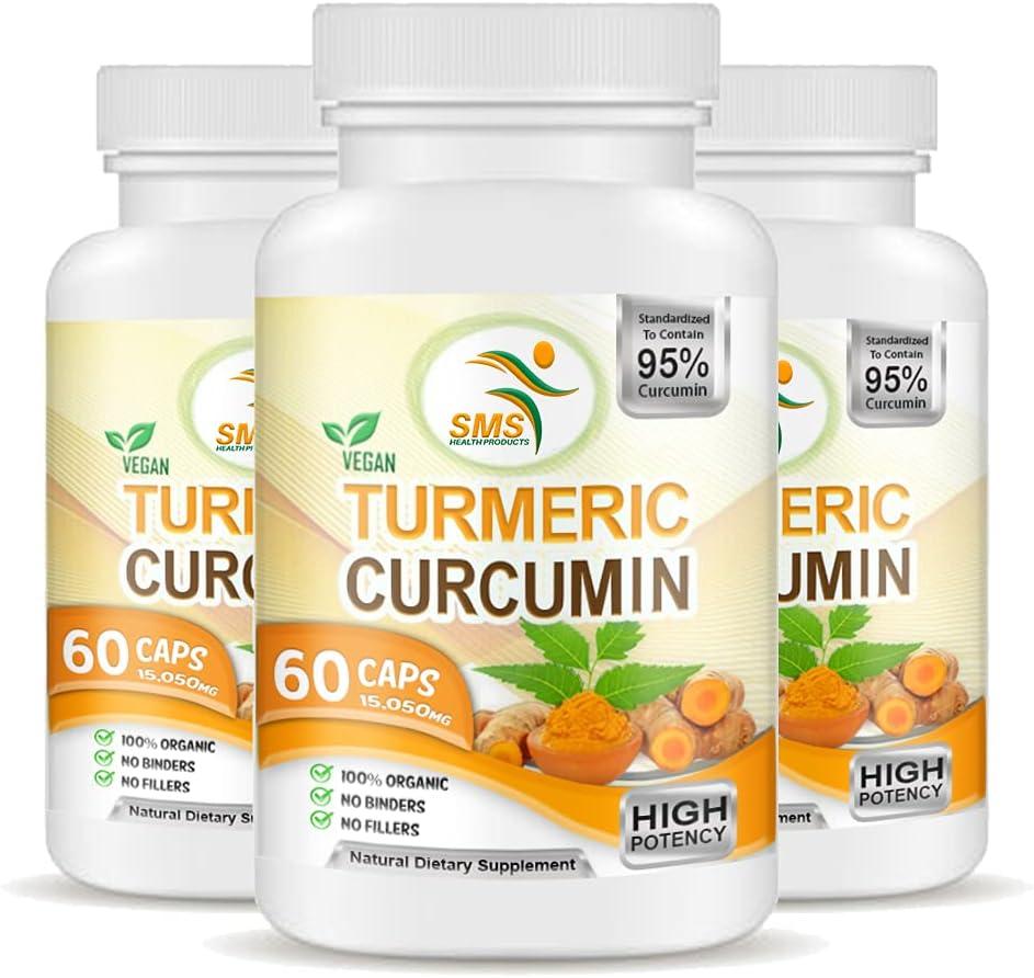 Turmeric discount Curcumin Factory outlet with BioPerine 95% Black - Pepper Curcuminoids