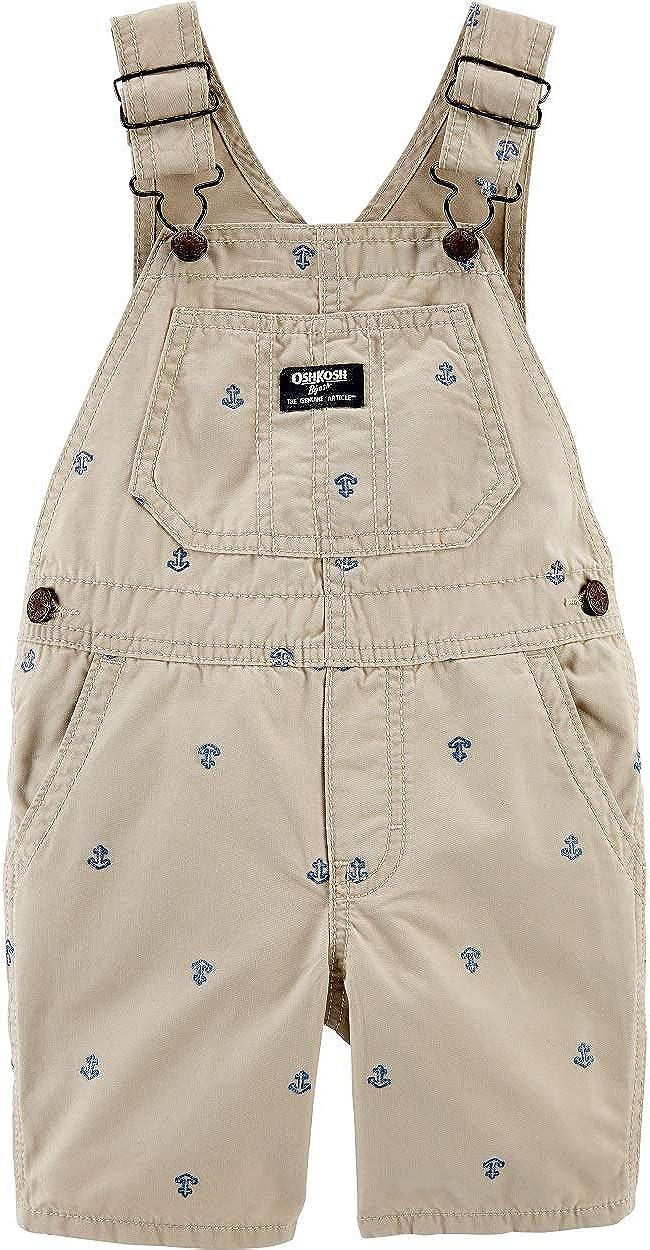 Oshkosh New sales B'gosh Baby Boys' Anchor Super special price Design with Schiffli Shortalls