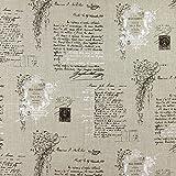 Fabulous Fabrics Reinleinen Natur, Buchstaben & Zahlen,
