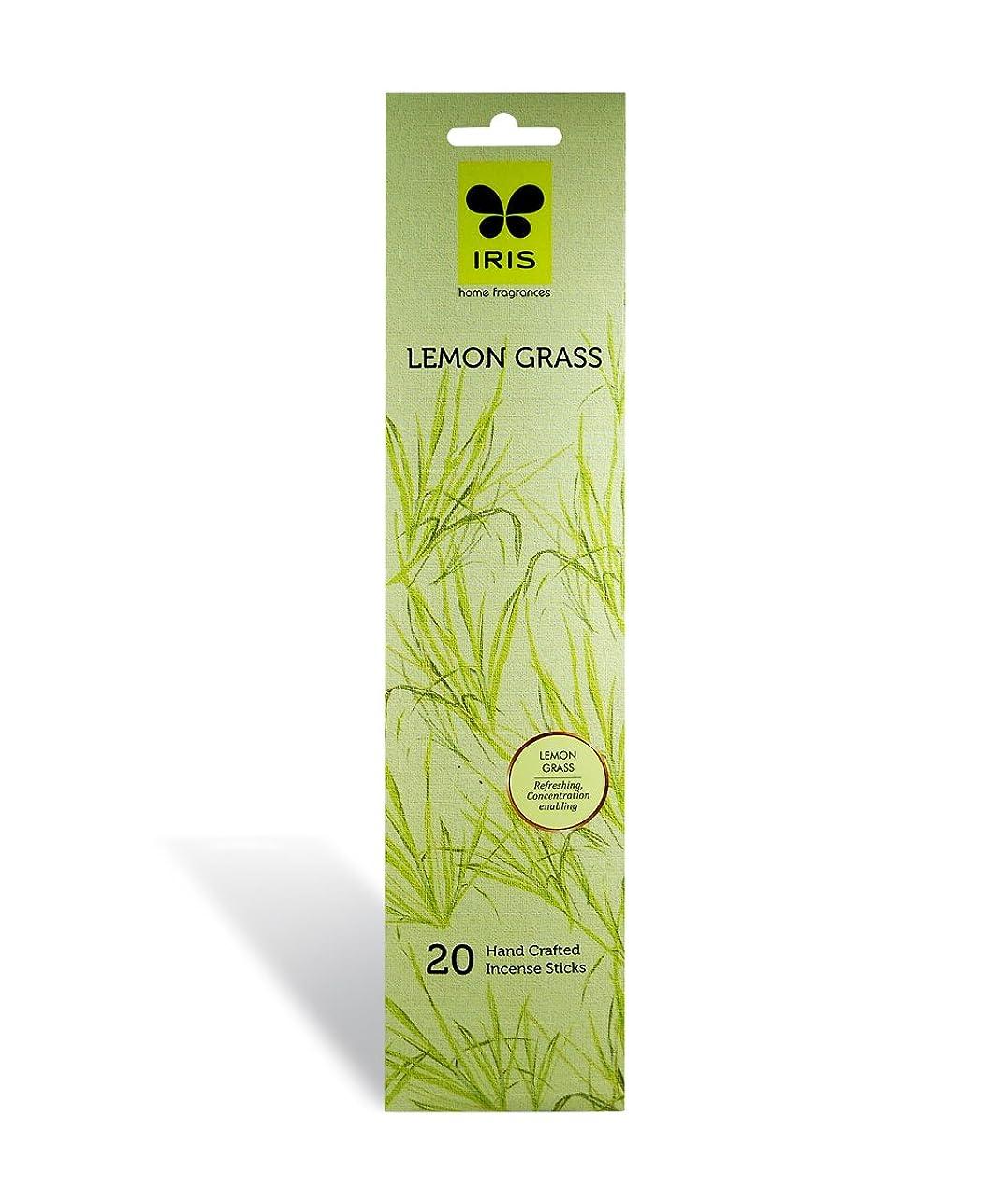 大プレビューウェイターIRIS Signature Lemon Grass Fragrance Incense Sticks