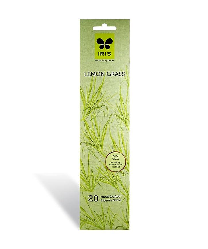 機関車さびたうっかりIRIS Signature Lemon Grass Fragrance Incense Sticks