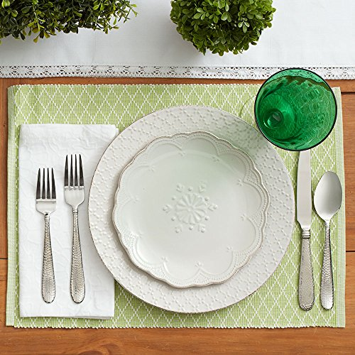 Pfaltzgraff French Lace White Dinnerware Set (32 Piece)