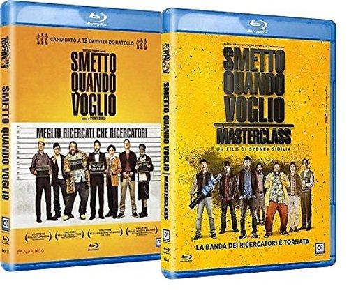 Blu Ray Smetto Quando Voglio / Smetto Quando Voglio - Masterclass - (2 Blu Ray)