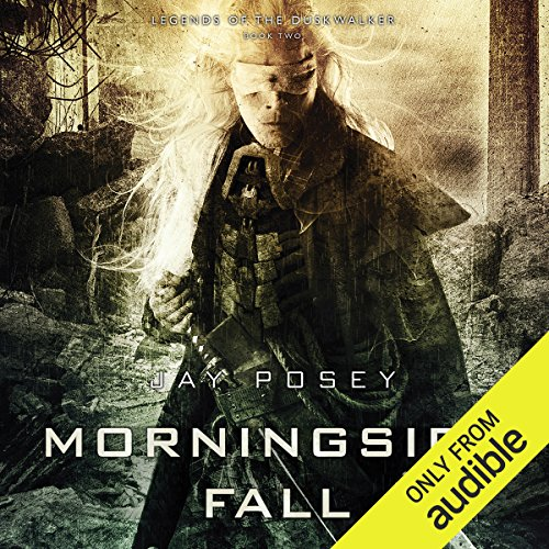 Morningside Fall audiobook cover art