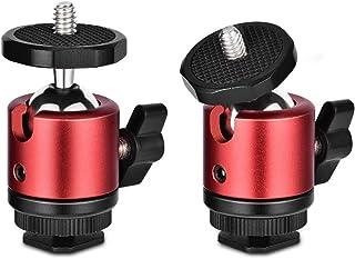 360 Degree Mini rótula de trípode soporte soporte con rótula con 1/4