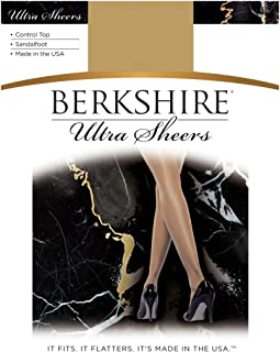 Berkshire womens 4415 Ultra Sheer Control Top Sandalfoot Pantyhose 4415 Pantyhose
