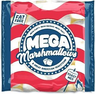 Mega Marshmallows – Extra Grande – Americano – 550 gramos – asado para hoguera de barbacoa