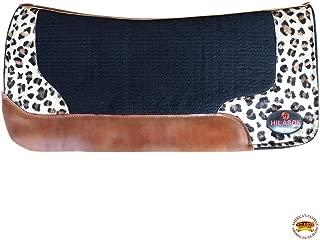 cheetah saddle pad