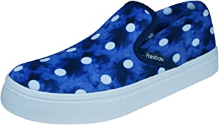 Reebok Skyscape Viva Womens Slip On Walking Trainers - Blue