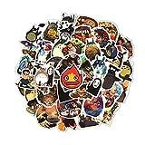 Stickers Adesivi Valigia Kit Adesivi Atickers Adesivi Graffiti 50 Anime Giapponesi Hayao Serie Miyazaki Decalcomanie Valigia per Laptop Valigia per Chitarra Skateboard Carrello Applique Impermeabile