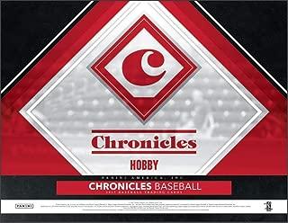 2017 Panini Chronicles Baseball Hobby 12 Pack Box (Factory Sealed)