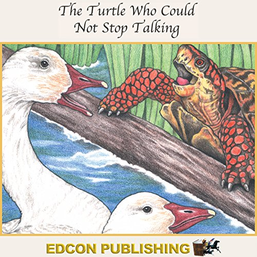 The Turtle Who Could Not Stop Talking audiobook cover art