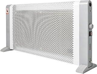 Calefactor De Cristal De Carbono De 1800 Vatios, Calefactor EléCtrico De Ahorro De EnergíA De Infrarrojo Lejano, Calefactor EléCtrico De Aluminio Anti-Escaldado con Bloqueo para NiñOs
