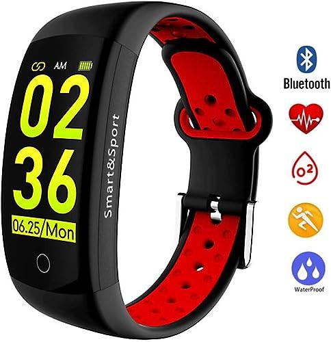 ZIHENGUO Fitness Tracker Montre Intelligente Couple Smart Bracelet IP68 Montre de Sport étanche Montre de fréquence Cardiaque Moniteur de Sommeil