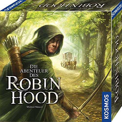Kosmos 680565 Die Abenteuer des Robin Hood, Kooperatives Abenteuer-Spiel für die ganze Familie, mit offener Spielwelt und sich veränderndem Spielplan, spannendes Gesellschaftsspiel von