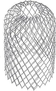 MLZYKYJZ Juego de colador de canalones, Cubiertas de Malla de Aluminio Ligero, para bajantes de canalones sin obstrucciones