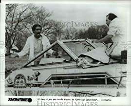 Historic Images - 1988 Press Photo Richard Pryor & Ruben Blades in Critical Condition