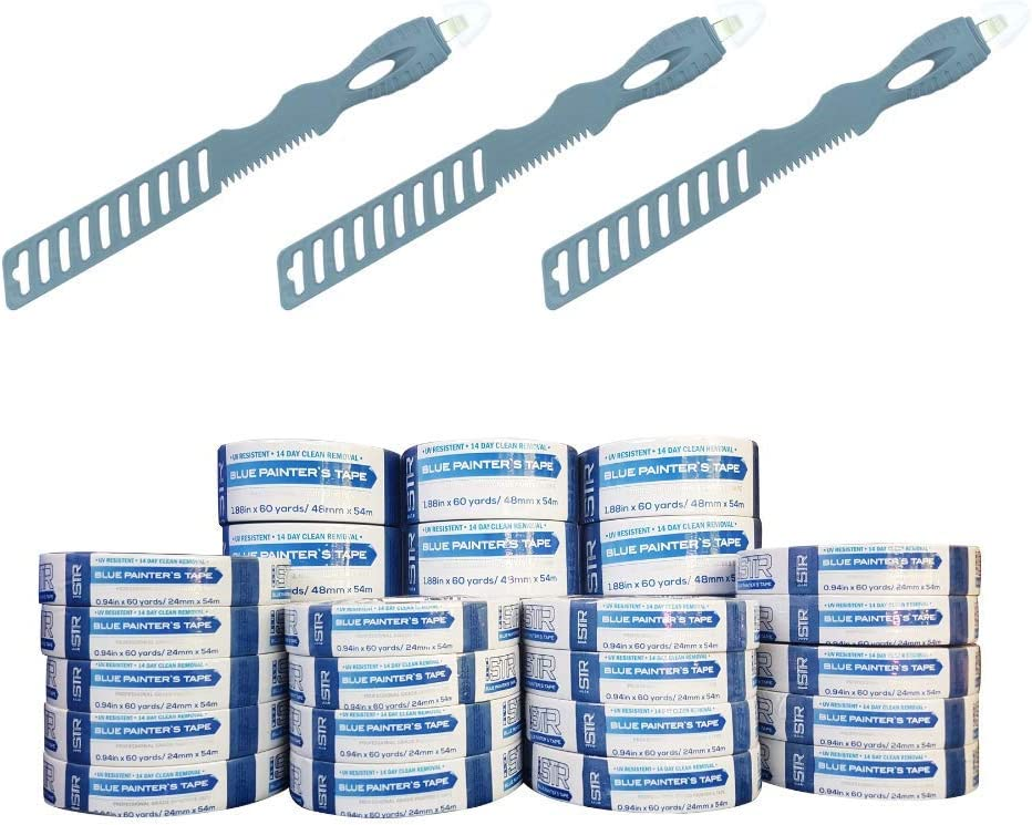 Painters Tape 36 pcs 1 2 ご予約品 DIY All Multitools 高級品 + for Inch