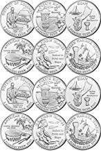 2009 U.S. Territories Set from both P and D Mints (12 Coins) Uncirculated