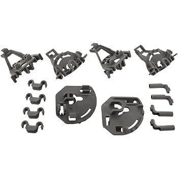 Bosch Lave-Vaisselle Inférieur Panier Rack Clapet Tynes Roulements Clips Kit