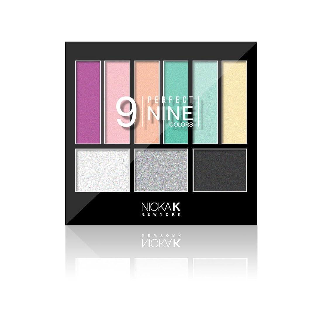 顕微鏡理解する混乱NICKA K Perfect 9 Eyeshadow Colors - AP019 (並行輸入品)
