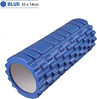Yoga Foam Roller Grid Trigger Point Massage Pilates Physio Gym Exercise EVA PVC