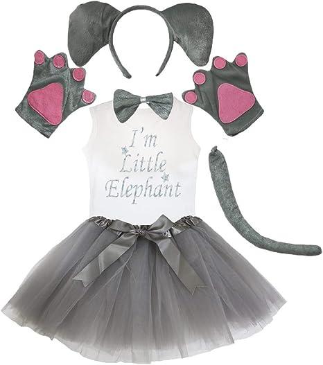 Petitebelle Cinta de cabeza de elefante de la pata cola arco ...