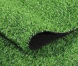 La Alfombra de Césped Artificial Premium Para Balcones y Terrazas Hierba artificial Alfombra sintética Entrada de hierba Estera de bienvenida Césped Artificial Rollo Exteriores(Color:A,Size:1 * 6M)