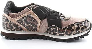 LIU JO Luxury Fashion Womens 4XX795TX076S1802 Brown Slip On Sneakers | Fall Winter 19