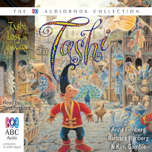 Tashi Lost in the City audiobook cover art