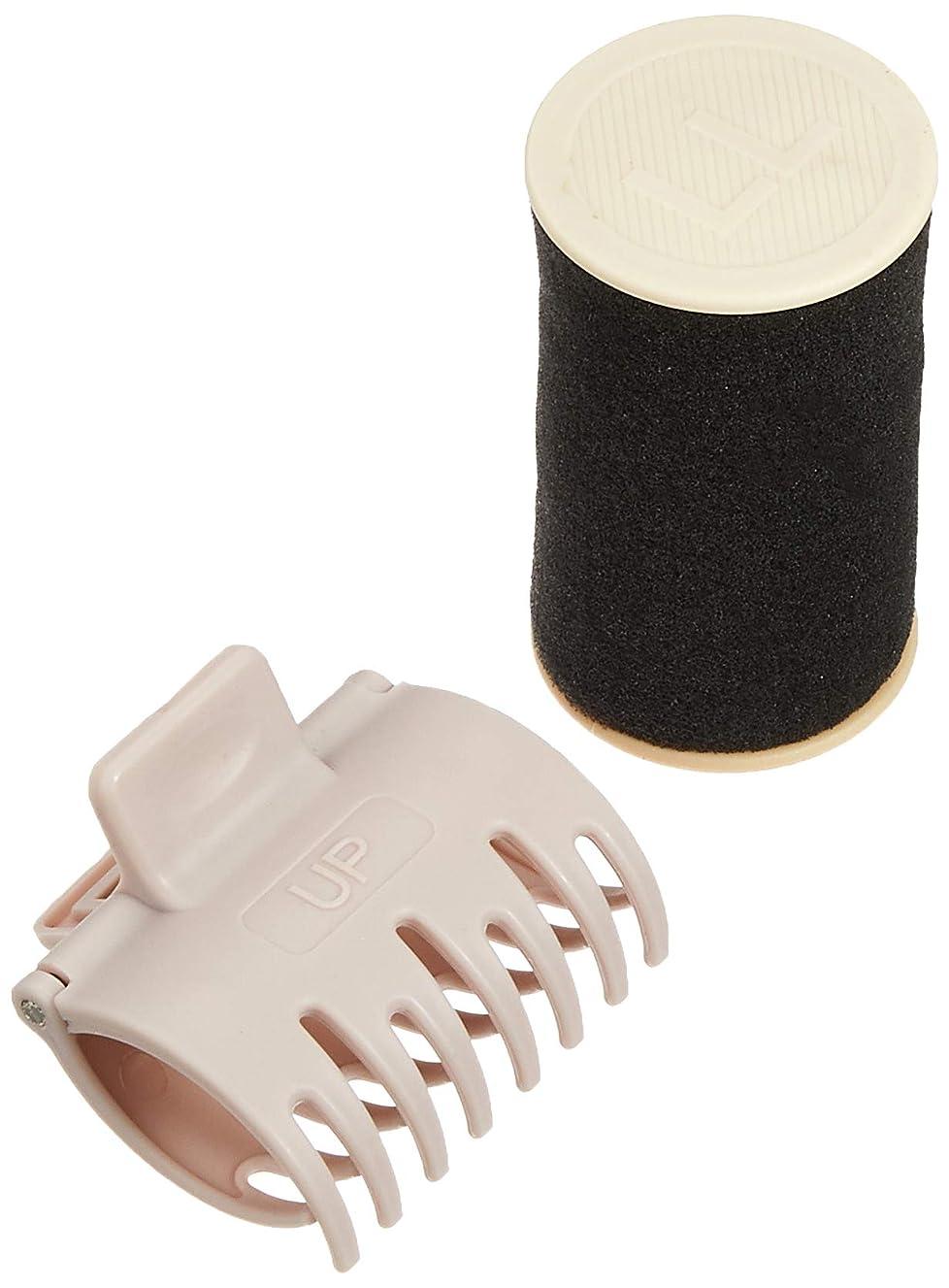 バズオープニングパースブラックボロウビナールプチ モイスチャーカーラー専用カーラー LLサイズ4本セット(クリップ付き)