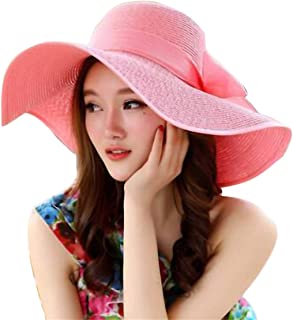Best pink straw hat Reviews