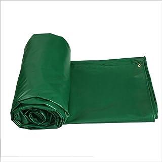 Yxsd Bâche de Protection supérieure enduite de PVC (450 GR / m2) - Absolument Hiver et imperméable à l'eau (Size : 4m × 6m)
