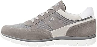 NeroGiardini P900840U Sneaker Hombre De Piel, Ante Y Tela