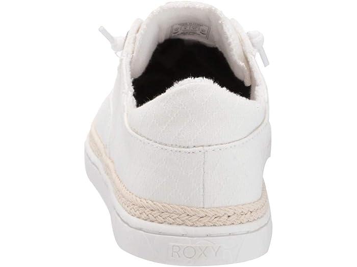 Roxy Talon White Sneakers & Athletic Shoes