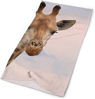 jingqi SuBenSM Giraffe Head Sky Headband Bandana£¬Outdoor Multifunctional Headwear,Magic Scarf for Men Women 19.7x9.85inch?50x25cm?