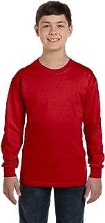 5400B - Youth Heavy Cotton Long Sleeve T-Shirt