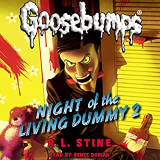 Classic Goosebumps: Night of the Living Dummy 2 audiobook cover art