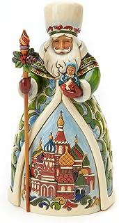 Best Enesco Jim Shore Heartwood Creek Russian Santa Stone Resin Figurine Review