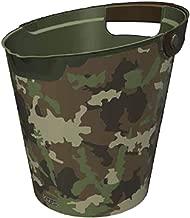 QUTU Q-Bucket Camouflage Basket - Black H 27.3 cm x W 28 cm x D 27.3 cm