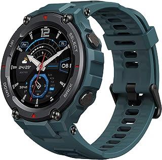 Amazfit T-Rex Pro Blue Smartwatch Sport Horloge Fitness Tracker