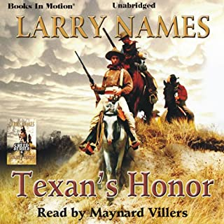 Texan's Honor audiobook cover art