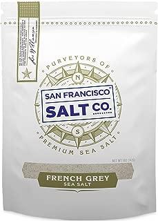 French Grey Sea Salt 5 oz. Fine Grain - Sel Gris by San Francisco Salt Company