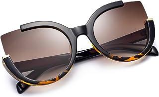 Mosanana Oversized Cat Eye Sunglasses for Women Fashion Retro Style MS51807