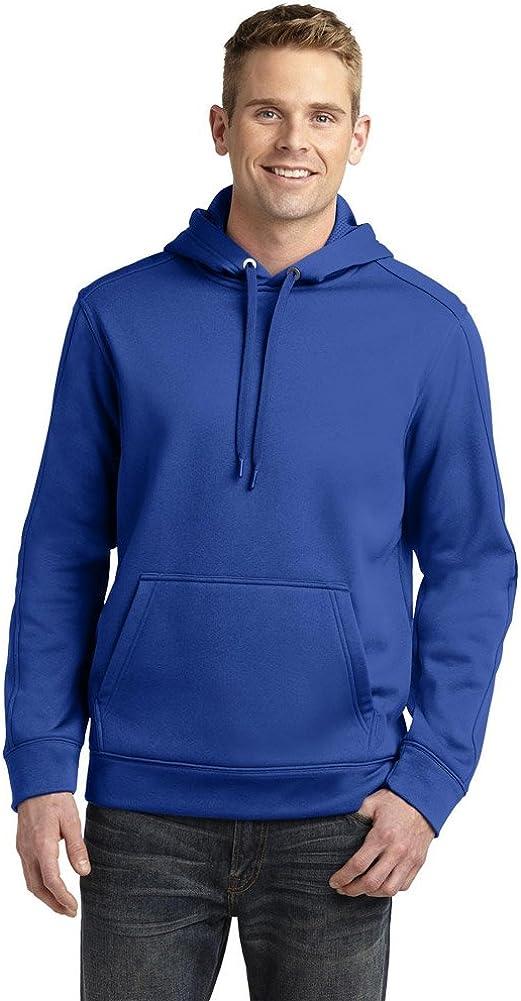 SPORT-TEK Mens Repel Hooded Pullover