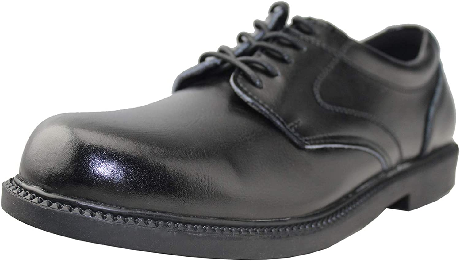 Mens Comfortable Oxford Wate Resistant Leather Shoes Non Slip Casual Fashion Shoes
