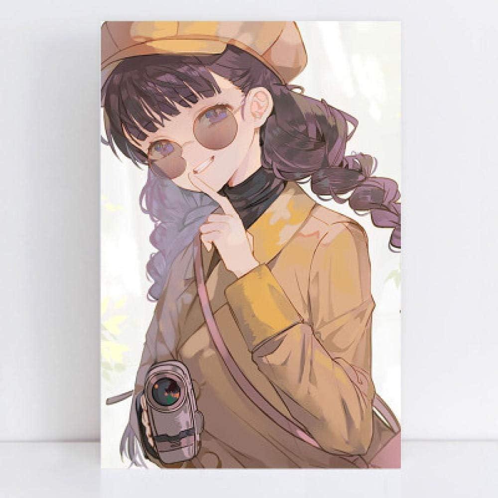 16x20 Zoll WOAILI DIY Peindre par Nombre Kits Kits de Peinture par num/éro Chat Gris Adulte Num/érique Mur Art Toile Cadeaux D/écor,avec pinceaux et Pigment Acrylique,40x50 cm