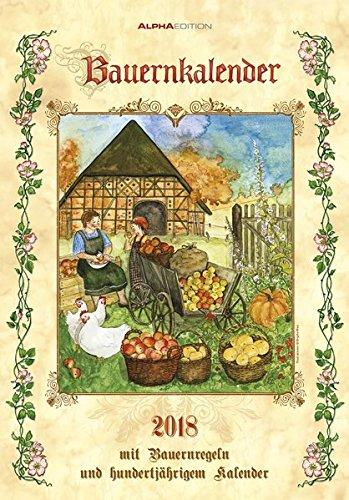 Herlitz 50011124de campesinos Calendario 2018