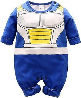 Fuyxxmer Goku تصميم كارتون للأطفال بنين بنات رومبير أزياء تنكرية مستوحاة من جوكو ملابس بدلة للأطفال