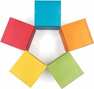 gold favor boxes 3x3x3